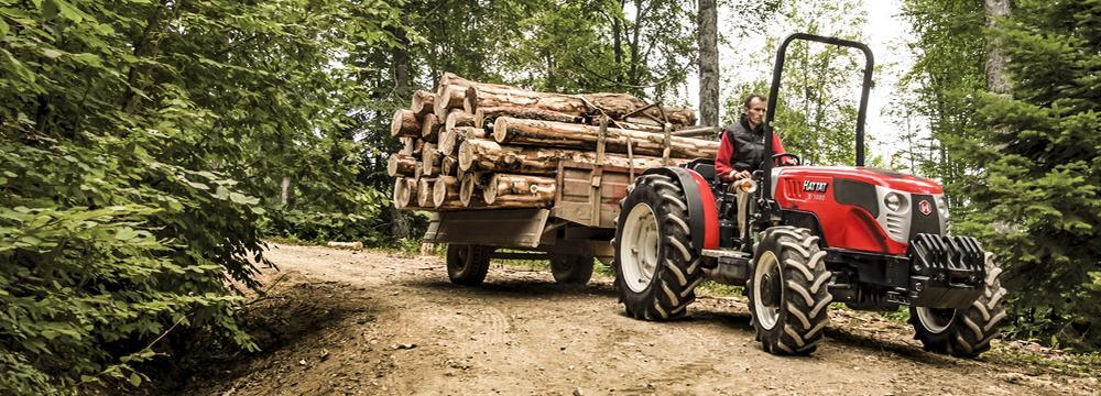 Hattat traktorok.