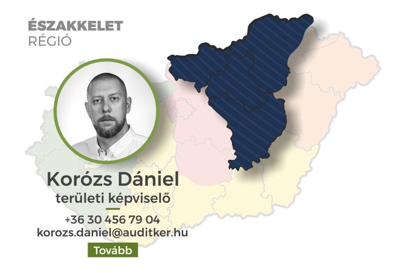 Északkelet régió - Korózs Dániel