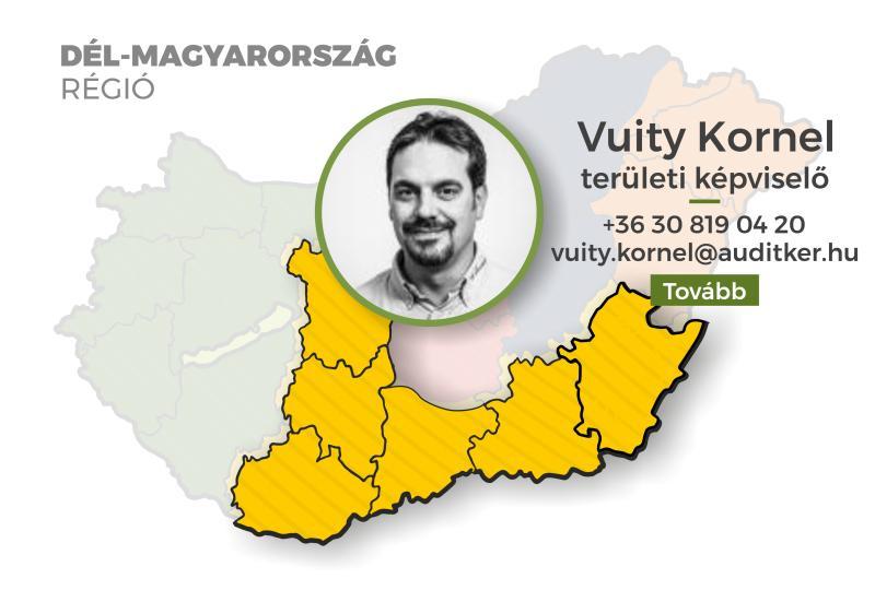 Dél-Magyarország régió - Vuity Kornel