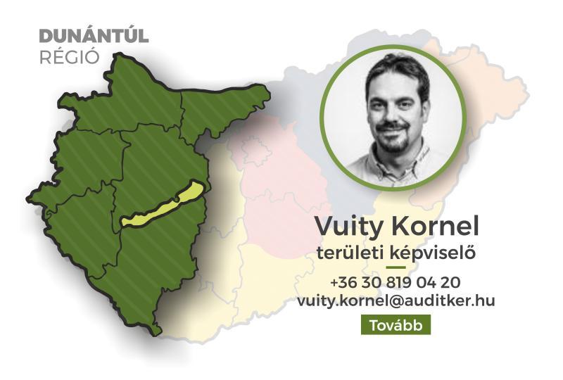 Dunántúl régió - Vuity Kornel