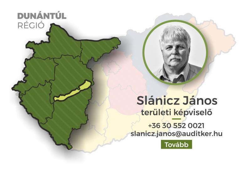 Dunántúl régió - Slánicz János