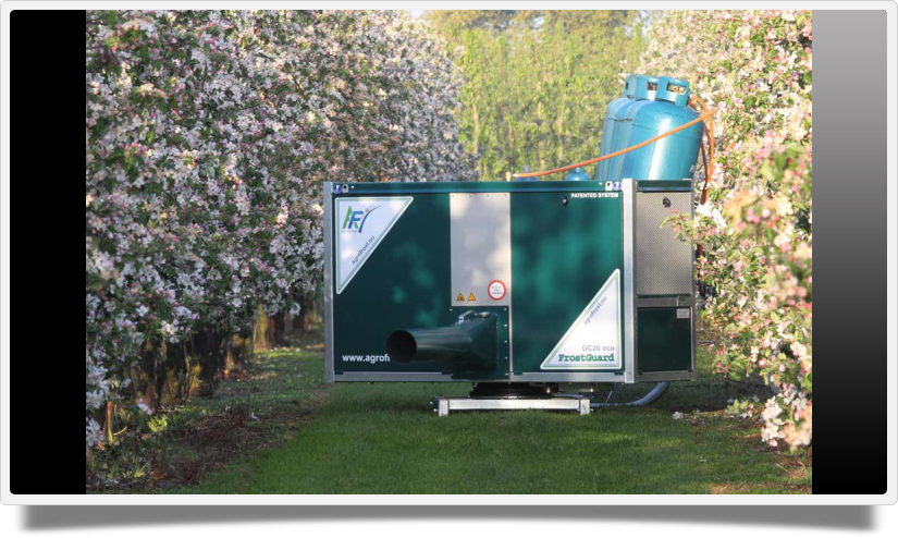 FROSTGUARD fagymentesítő gép Gyümölcstermesztés gépei Szőlőtermesztés gépei